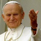 What car does religious figure Pope John Paul II drive?