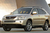 The Lexus RX400