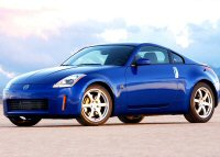 The nissan 350z